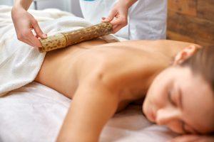 Bamboe massage
